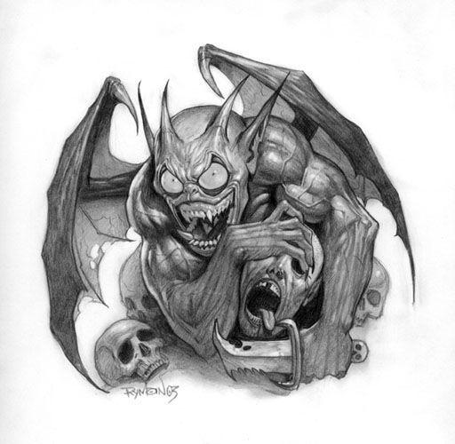 D mon dessin demon - Dessin de demon ...